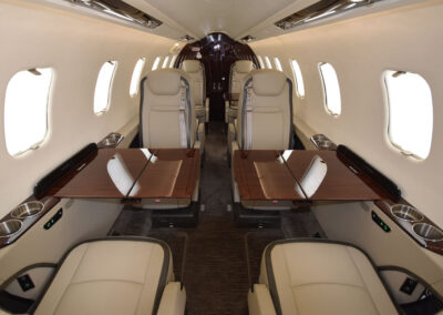 Lear75 interior