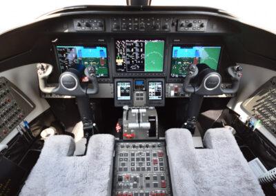 Lear75 cockpit