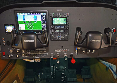 Cessna 182 after panel upgrade