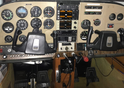 Cessna 182 before panel upgrade